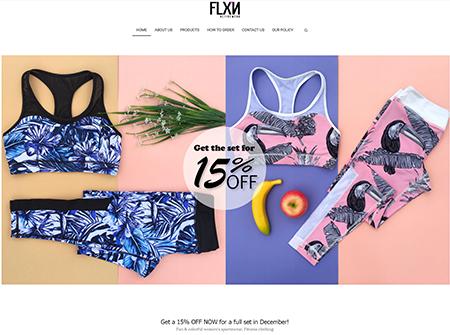 www.flxnactivewear.com