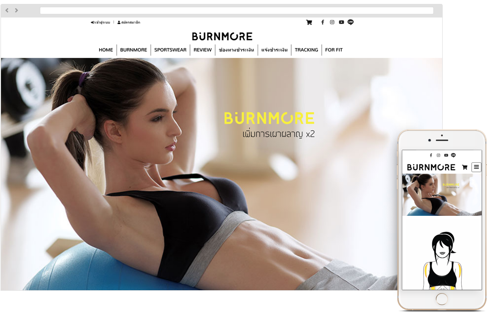 BURNMORE FOR FIT